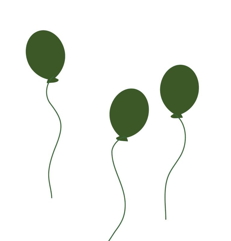 Heiraten in Brandenburg Luftballons