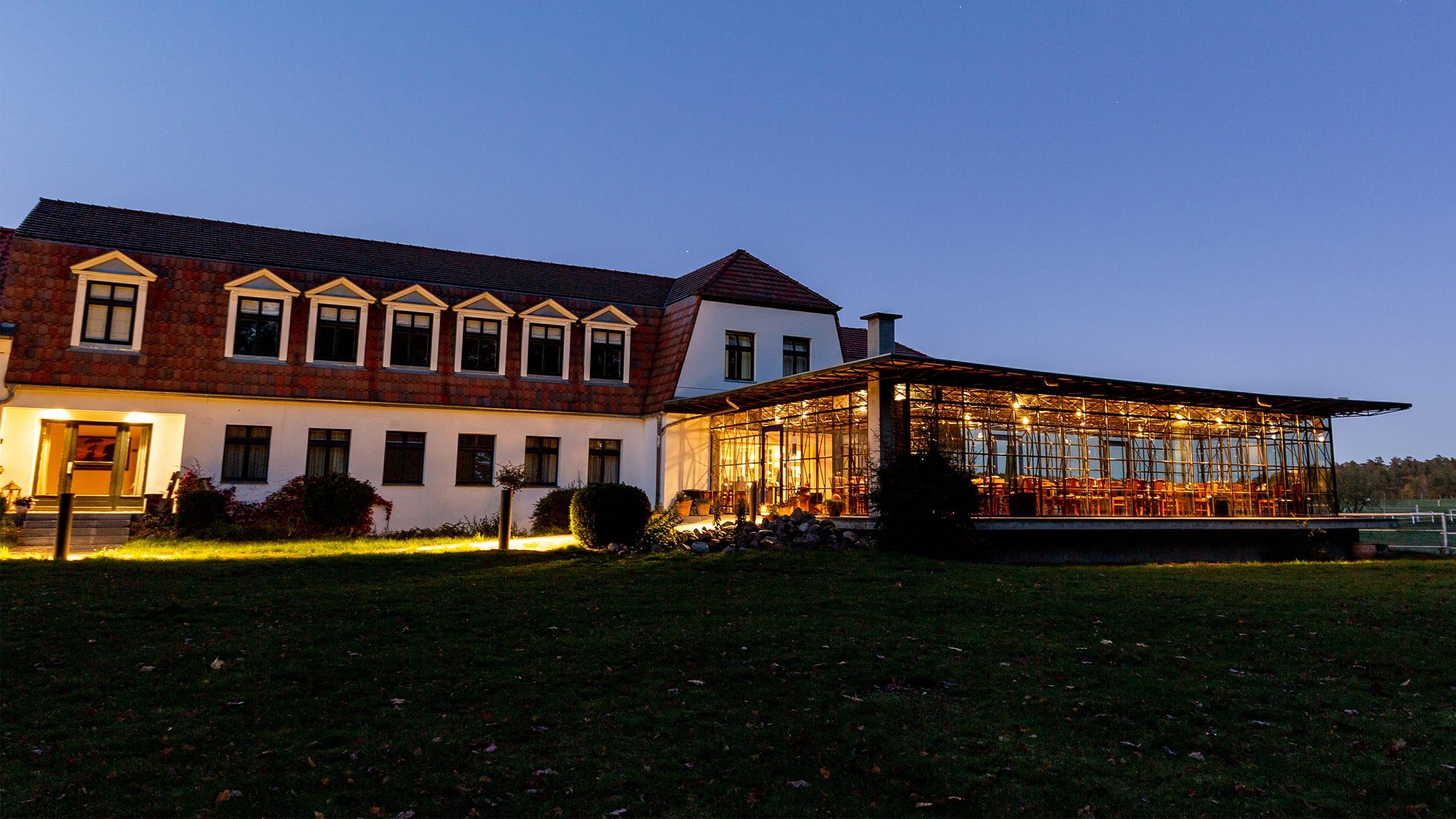 Gutshaus Gut Sarnow Hotel und Hochzeitslocation in Brandenburg nähe Berlin