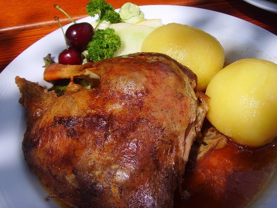 Gänsebraten Restaurant Gut Sarnow
